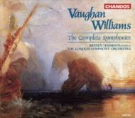 【送料無料】 Vaughan-williams ボーンウィリアムズ / V・ウィリアムズ:交響曲全集/B・トムソン、ロンドンSO 輸入盤 【CD】