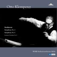 【送料無料】 Beethoven ベートーヴェン / 交響曲第4番、5番「運命」、「レオノーレ」序曲第3番:オットー・クレンペラー指揮&ケルン放送交響楽団 (ステレオ / 2枚組アナログレコード) 【LP】