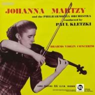 【送料無料】 Brahms ブラームス / ヴァイオリン協奏曲:ヨハンナ・マルツィ(ヴァイオリン)、パウル・クレツキ指揮&フィルハーモニア管弦楽団【完全限定プレス】(180グラム重量盤レコード / Spectrum Sound) 【LP】