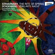 【送料無料】 Stravinsky ストラビンスキー / ストラヴィンスキー:春の祭典、シェーンベルク:浄夜 ジョナサン・ノット&東京交響楽団(ダイレクト・カットSACD) 【SACD】