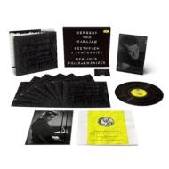【送料無料】 Beethoven ベートーヴェン / ヘルベルト・フォン・カラヤン & ベルリン・フィル / 交響曲全集デラックスLPセット (8枚組 / 180グラム重量盤レコード) 【LP】