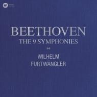【送料無料】 Beethoven ベートーヴェン / 交響曲全集:ヴィルヘルム・フルトヴェングラー指揮&ウィーン・フィルハーモニー管弦楽団、他 (BOX仕様 / 10枚組 / 180グラム重量盤レコード / Warner Classics) 【LP】