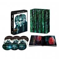 【送料無料】 【初回限定生産】マトリックス トリロジー 日本語吹替音声追加収録版<4K ULTRA HD & HDデジタル・リマスターブルーレイ>(9枚組 / 豪華ボックス&ブックレット付) 【BLU-RAY DISC】
