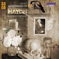 【送料無料】 Haydn ハイドン / 交響曲全集 エルンスト・メルツェンドルファー&ウィーン室内管弦楽団(33CD) 輸入盤 【CD】