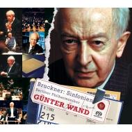 【送料無料】 Bruckner ブルックナー / 交響曲選集~第4番、第5番、第7番、第8番、第9番 ギュンター・ヴァント&ベルリン・フィル(5SACDシングルレイヤー) 【SACD】