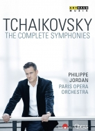【送料無料】 Tchaikovsky チャイコフスキー / Comp.symphonies: P.jordan / Paris National Opera O 【DVD】