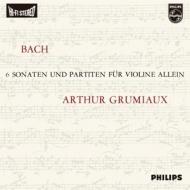 【送料無料】 Bach, Johann Sebastian バッハ / バッハ:伴奏ヴァイオリンのためのソナタとパルティータ全曲 (3枚組アナログレコード) 【LP】