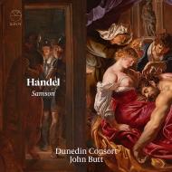 【送料無料】 Handel ヘンデル / オラトリオ『サムソン』 ジョン・バット&ダニーデン・コンソート、ジョシュア・エリコット、他(3CD) 輸入盤 【CD】