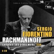 【送料無料】 Rachmaninov ラフマニノフ / ピアノ独奏曲全集 セルジオ・フィオレンティーノ(6CD) 輸入盤 【CD】