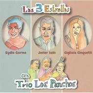 送料無料 Las 訳あり商品 3 Estrellas Con Trio 数量限定 Panchos: Los CD パンチョス:伝説の共演 3大スターとトリオ ロス