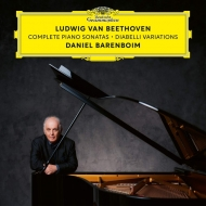 送料無料 Beethoven ベートーヴェン 春の新作続々 ピアノ ソナタ全集 ディアベリ変奏曲 ラッピング無料 13CD バレンボイム 輸入盤 2020 CD ダニエル