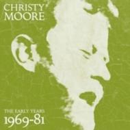 送料無料 Christy 公式通販 Moore クリスティムーア Early 輸入盤 秀逸 1969-1981 Years: CD 3CD