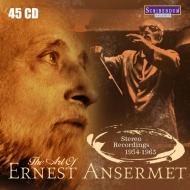 送料無料 ご予約品 エルネスト 定番 アンセルメの芸術~ステレオ レコーディングス 1954~1963 輸入盤 45CD CD
