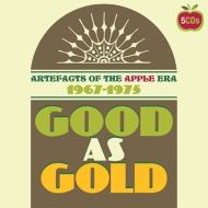 送料無料 Good As Gold: Artefacts Of The Apple 代引き不可 Era Clamshell Boxset CD 帯 輸入盤 限定価格セール 5CD 解説付き国内仕様 1967-1975
