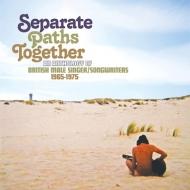 売り込み 送料無料 Separate Paths Together: An Anthology Of British Male Clamshell 1965-1975 CD 本日限定 3CD Songwriters Singer Boxset 輸入盤