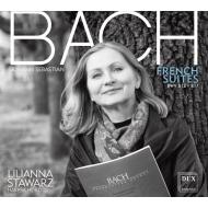 送料無料 Bach Johann Sebastian バッハ 予約販売 フランス組曲 全国どこでも送料無料 全曲 CD 2CD スタヴァルツ チェンバロ リリアンナ 輸入盤