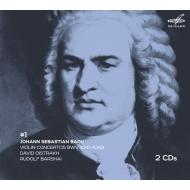 送料無料 Bach ストアー Johann Sebastian バッハ バッハ:ヴァイオリン協奏曲第1番 第2番 モーツァルト:ヴァイオリン協奏曲第1番 第5番 輸入盤 他 コンドラシン CD オイストラフ 2CD 全店販売中 バルシャイ ダヴィド