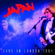 【送料無料】 Japan ジャパン / Live In London 1981 輸入盤 【CD】