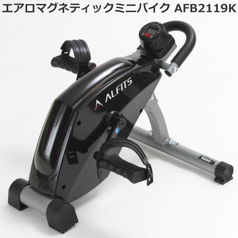 アルインコ ALINCO エアロマグネティック ミニバイク 2119 AFB2119K 室内運動 サイクルマシン メーカー保証1年付 送料無料