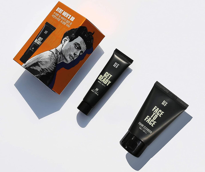【お得な洗顔料付き】メンズコスメDTRTBBクリームナチュラルGETREADY韓国コスメ化粧品男性メイク男性化粧品韓国コスメスキンケアBBクリーム