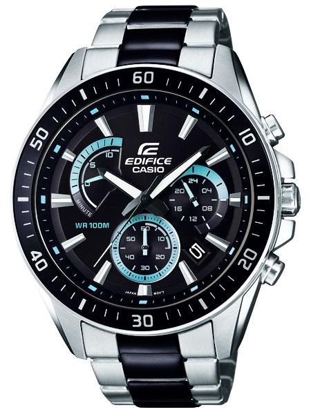 カシオ CASIO エディフィス EDIFICE クロノグラフ クオーツ メンズ 腕時計 EFR-552SBK-1AVUDF