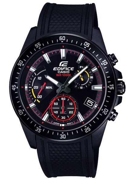 カシオ CASIO エディフィス EDIFICE クロノグラフ クオーツ メンズ 腕時計 EFV-540PB-1A