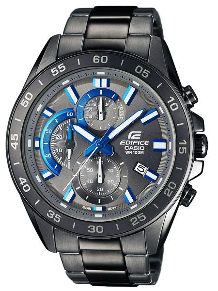 カシオ CASIO エディフィス EDIFICE クロノグラフ クオーツ メンズ 腕時計 EFV-550GY-8A