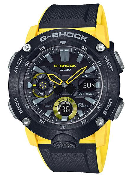 カシオ【G-SHOCK】カーボンコアガード構造シリーズ◆GA-2000-1A9DR(国内GA-2000-1A9JFと同型)