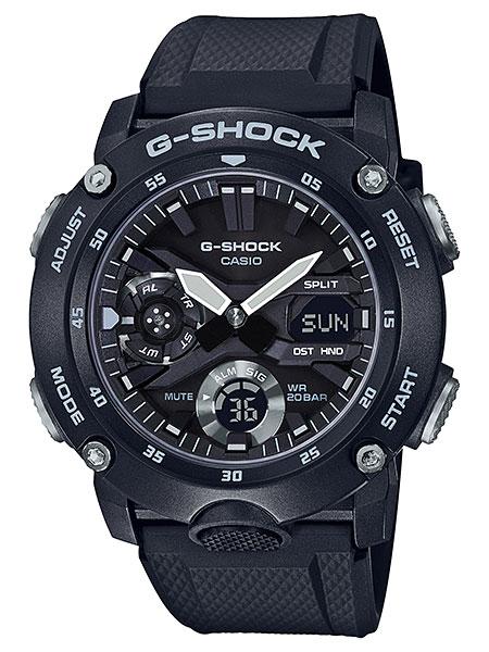 カシオ【G-SHOCK】カーボンコアガード構造シリーズ◆GA-2000S-1ADR(国内GA-2000S-1AJFと同型)