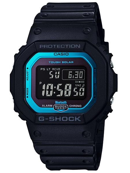 カシオG-SHOCK】Bluetooth 搭載 電波ソーラー◆GW-B5600-2DR(国内GW-B5600-2JFと同型)