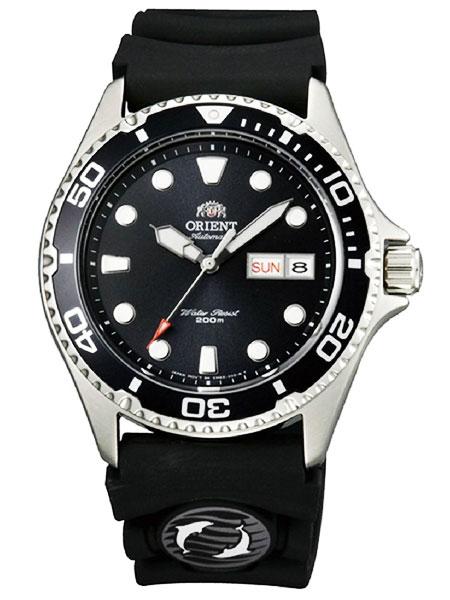 オリエント ORIENT 200M防水ダイバーズ 自動巻き(手巻付き) 腕時計 FAA02007B9