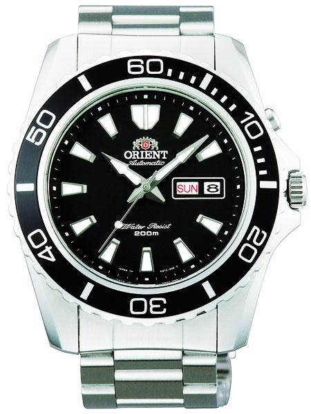 オリエント ORIENT 200M防水ダイバーズ 自動巻き(手巻付き) 腕時計 FEM75001BR