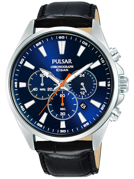 セイコー SEIKO パルサー PULSAR クロノグラフ腕時計 PT3A43X1