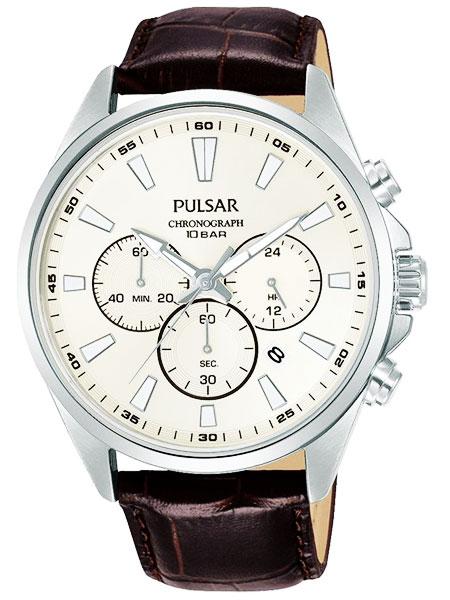 セイコー SEIKO パルサー PULSAR クロノグラフ腕時計 PT3A49X1