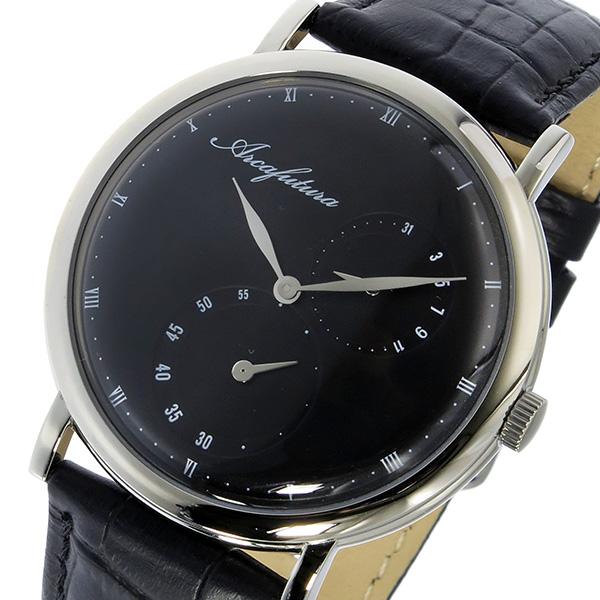 アルカフトゥーラ ARCA FUTURA クオーツ ユニセックス 腕時計 1074SS-BKBK ブラック