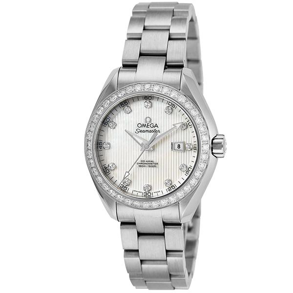オメガ OMEGA シーマスター アクアテラ 自動巻き レディース 腕時計 231.15.34.20.55.001 ホワイトパール
