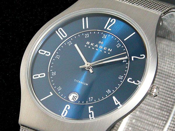 スカーゲン SKAGEN ウルトラスリム チタン 腕時計 233XLTTN