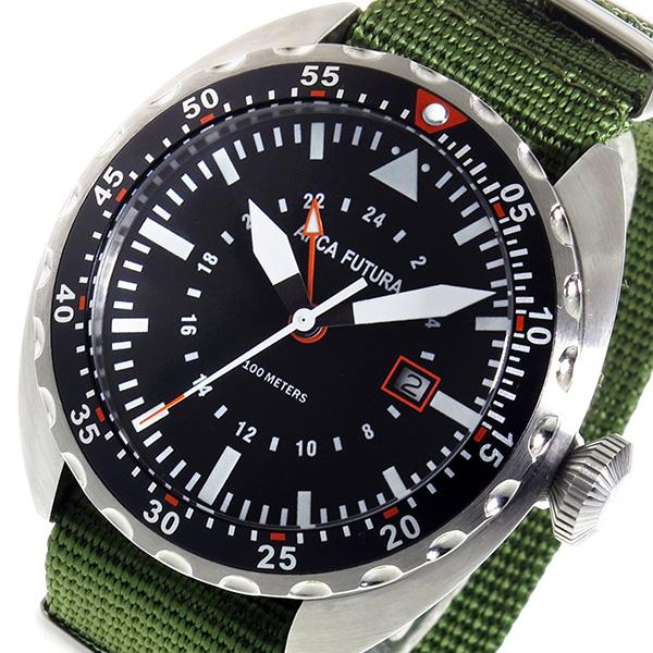 アルカフトゥーラ ARCA FUTURA クオーツ メンズ 腕時計 3750BK1 ブラック