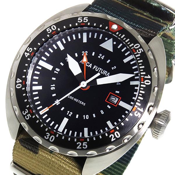 アルカフトゥーラ ARCA FUTURA クオーツ メンズ 腕時計 3750BK2 ブラック