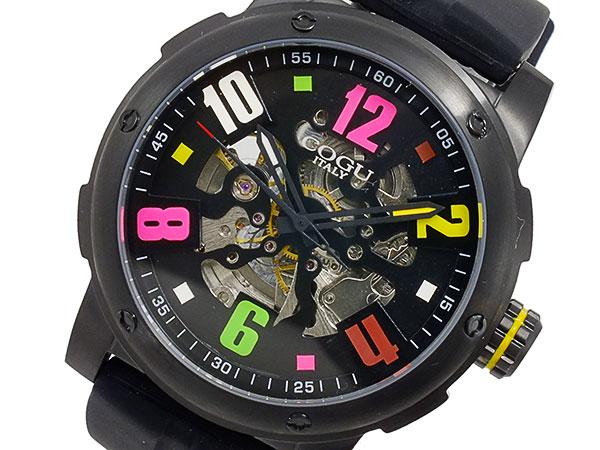 コグ COGU 自動巻 メンズ 腕時計 3SKU-BKC