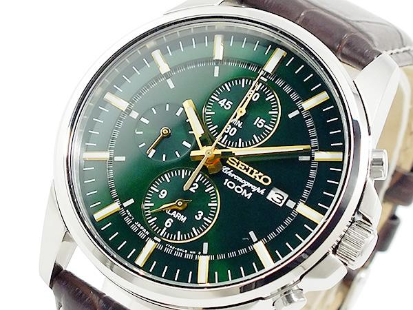 セイコー SEIKO クロノグラフ 腕時計 SNAF09P1