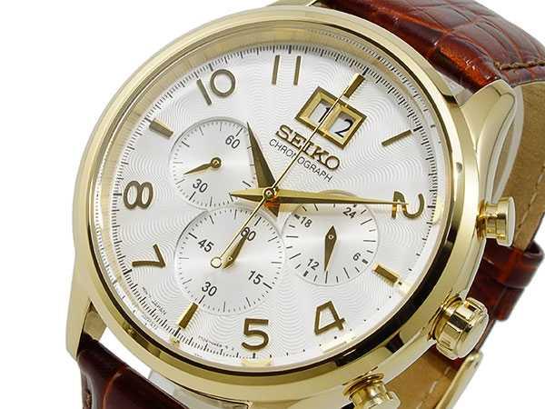 セイコー SEIKO クロノグラフ 腕時計 SPC088P1