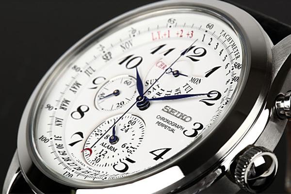 セイコー SEIKO クオーツ メンズ クロノグラフ 腕時計 SPC131P1