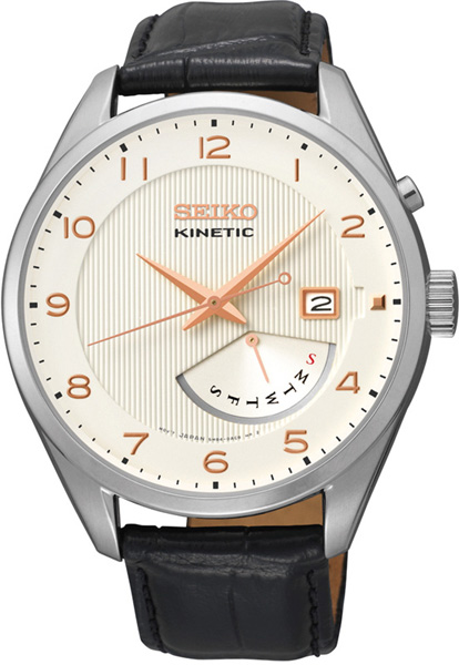 セイコー SEIKO KINETIC クォーツ メンズ 腕時計 SRN049P1