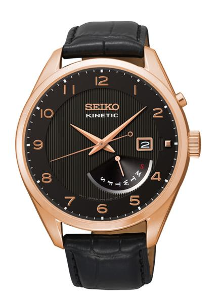 セイコー SEIKO KINETIC クォーツ メンズ 腕時計 SRN054P1