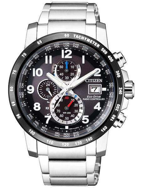 シチズン CITIZEN エコドライブ ソーラー 電波腕時計 サファイアガラス AT8124-83E
