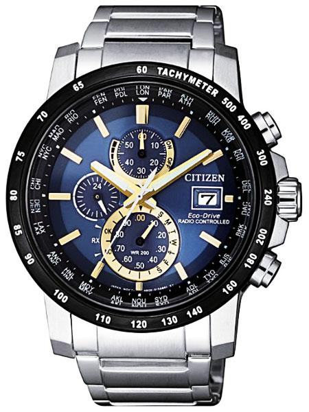 シチズン CITIZEN エコドライブ ソーラー 電波腕時計 サファイアガラス AT8124-83M