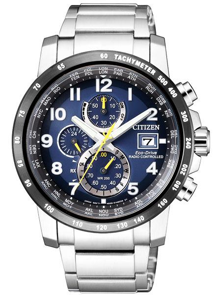 シチズン CITIZEN エコドライブ ソーラー 電波腕時計 サファイアガラス AT8124-91L