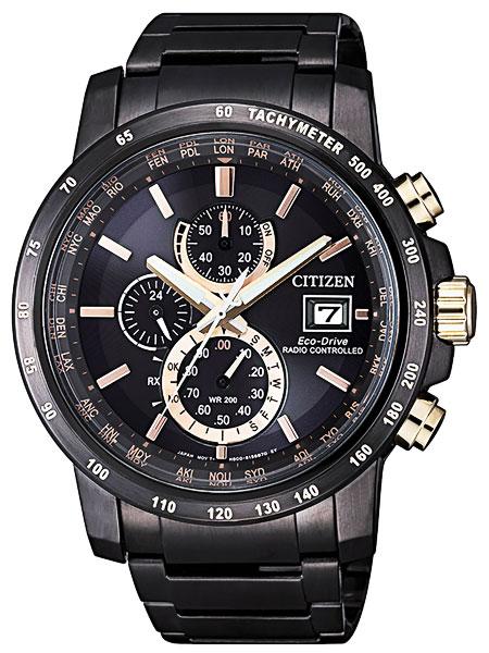 シチズン CITIZEN エコドライブ ソーラー 電波腕時計 サファイアガラス AT8127-85F