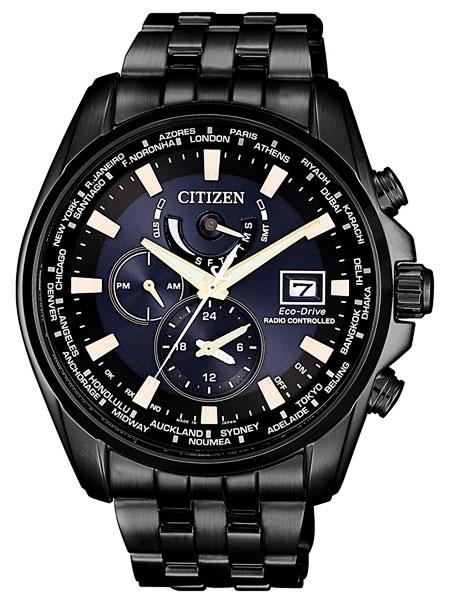 シチズン CITIZEN エコドライブ ソーラー 電波腕時計 サファイアガラス 日本製 AT9039-51L